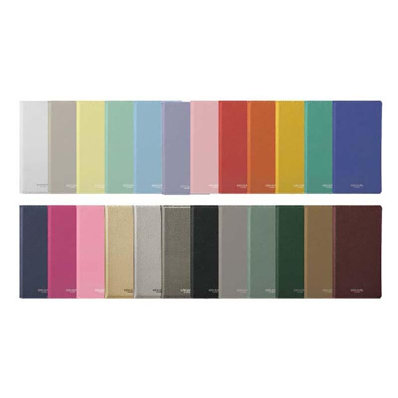 24色展開の手帳型ケース