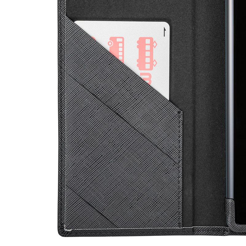 カードを入れても膨らまないICカードポケット
