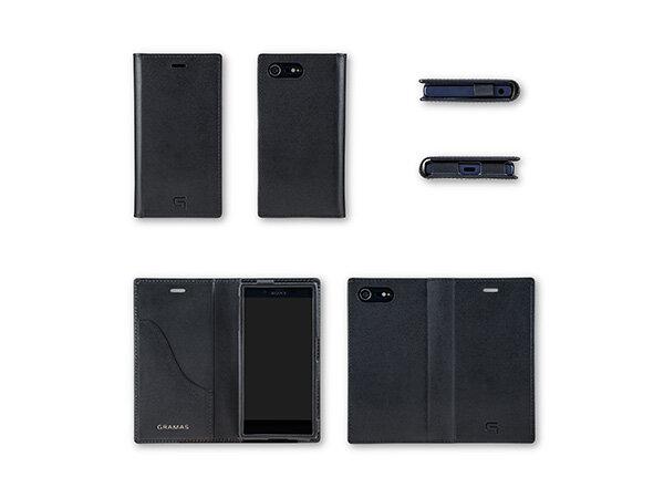Xperia用手帳型レザーケース